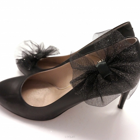 Tulle Bows / Black