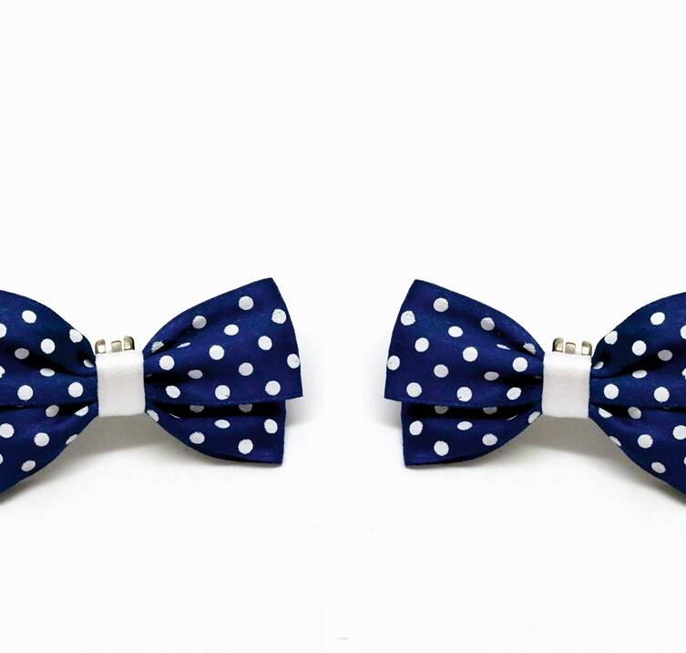 Classic Dots / Navy Blue
