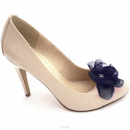 Fragile Navy Blue Flower